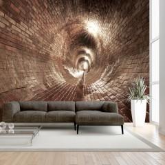 Artgeist Fototapete - Underground Corridor
