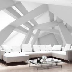 Artgeist Fototapete - White Construction