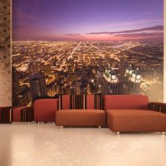 Basera® Fototapete Motiv Chicago 100404-17, Vliestapete