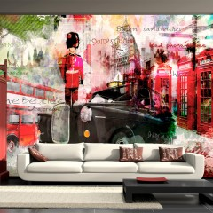 Artgeist Fototapete - Streets of London