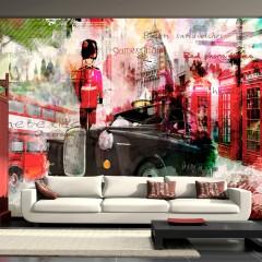 Basera® Fototapete Motiv London 10110904-4, Vliestapete