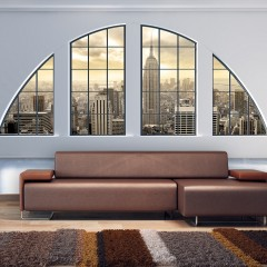 Artgeist Fototapete -  Illuminations - Empire State Building