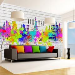 Artgeist Fototapete - Colors of New York