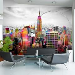 Artgeist Fototapete - Colors of New York City II