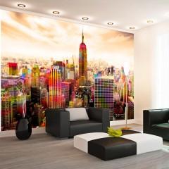 Artgeist Fototapete - Colors of New York City III