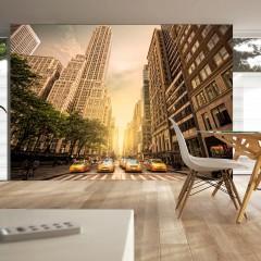 Artgeist Fototapete - In the shadow of skyscrapers