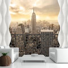 Artgeist Fototapete - Light of New York