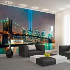 Artgeist Fototapete - Light of NYC