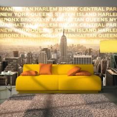 Artgeist Fototapete - Neighborhoods of New York