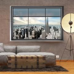 Artgeist Fototapete - New York Fenster
