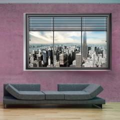 Artgeist Fototapete - New York Fenster II