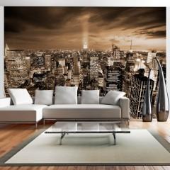 Artgeist Fototapete - Nowy Jork: night