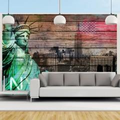 Artgeist Fototapete - NYC symbols