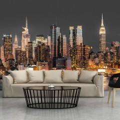 Artgeist Fototapete - NYC: Twilight