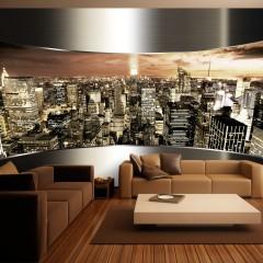 Artgeist Fototapete - Panorama von New York City