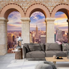 Artgeist Fototapete - Pillars of the City