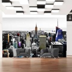 Artgeist Fototapete - Schillernde Wolkenkratzer