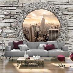Artgeist Fototapete - Secret Window