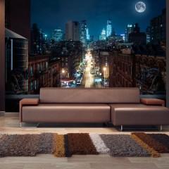 Artgeist Fototapete - Sleepy New York