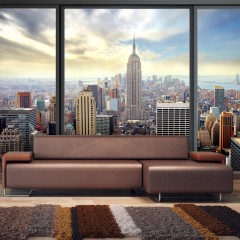 Basera® Fototapete Motiv New York 10110904-12, Vliestapete