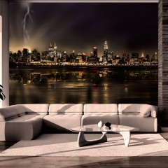 Artgeist Fototapete - Storm in New York City