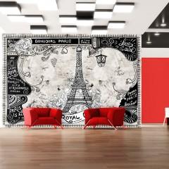 Artgeist Fototapete - Bonjour Paris