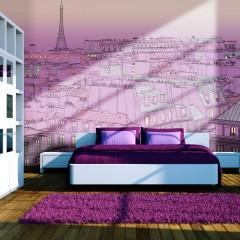 Artgeist Fototapete - Freitagabend in Paris