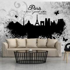 Basera® Fototapete Motiv Paris 10110905-81, Vliestapete