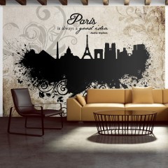 Basera® Fototapete Motiv Paris 10110905-80, Vliestapete