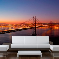 Artgeist Fototapete - Bay Bridge - San Francisco