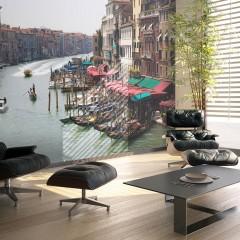 Artgeist Fototapete - Canal Grande in Venedig, Italien