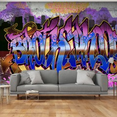 Basera® Fototapete Street Art-Motiv m-A-0586-a-b, Vliestapete