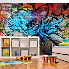 Basera® Fototapete Street Art-Motiv 10110905-4, Vliestapete