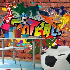 Artgeist Fototapete - Football fans!
