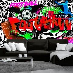 Artgeist Fototapete - Football Passion