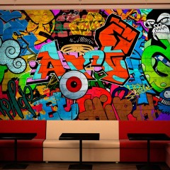 Artgeist Fototapete - Graffiti art