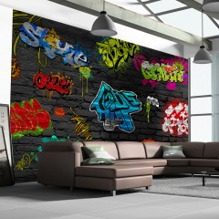 Artgeist Fototapete - Graffiti wall