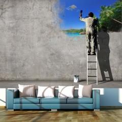 Basera® Fototapete Street Art-Motiv 10110905-23, Vliestapete