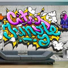 Basera® Fototapete Street Art-Motiv m-A-0010-a-b, Vliestapete