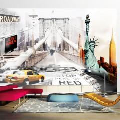 Artgeist Fototapete - Straßen von New York