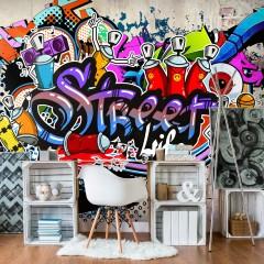 Basera® Fototapete Street Art-Motiv i-A-0108-a-c, Vliestapete