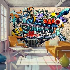 Basera® Fototapete Street Art-Motiv i-A-0108-a-b, Vliestapete