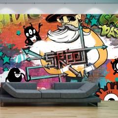 Basera® Fototapete Street Art-Motiv 10110905-8, Vliestapete