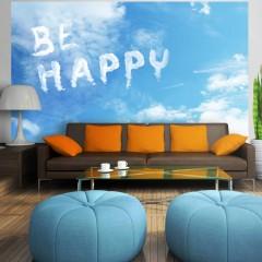 Artgeist Fototapete - Be happy