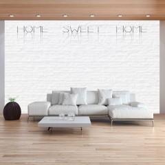 Artgeist Fototapete - Home, sweet home - wall