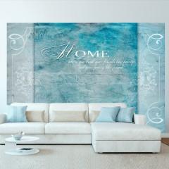 Artgeist Fototapete - Home, where you ...