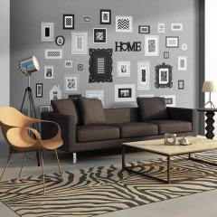 Artgeist Fototapete - Wall full of frames