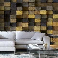 Artgeist Fototapete - Wooden cubes