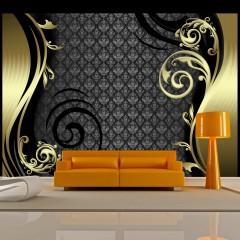 Artgeist Fototapete - Golden curtain