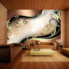 Artgeist Fototapete - Golden glow